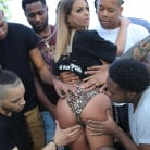 Brooklyn Chase in 'Brooklyn Chase - Interracial Blowbang - Scene 2'