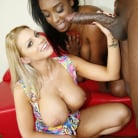 Brooklyn Chase in 'Brooklyn Chase and Lisa Tiffian - Blacks On Blondes'