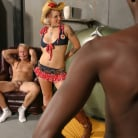 Candy Monroe in 'Cowgirl Riding The Black Bull - Candy Monroe'