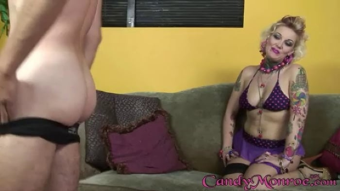 Candy Monroe in Jean Claude and Mark - Candy Monroe