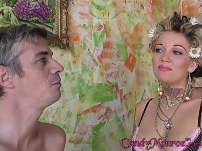Candy Monroe in Jerome The Cuckold Eats Creampie - Can ...