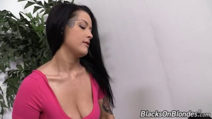 Katrina Jade in Katrina Jade - Blacks On Blondes