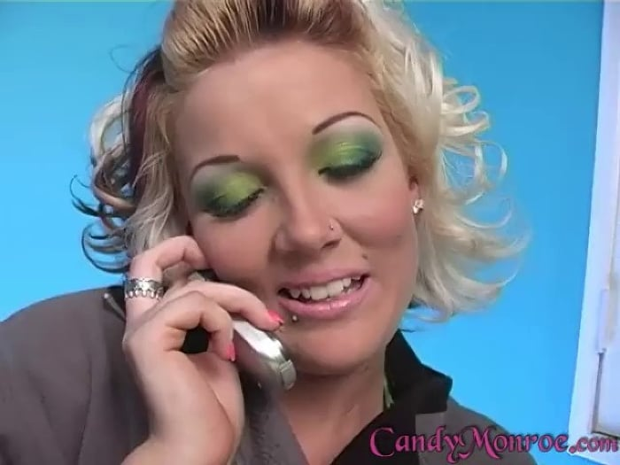 Candy Monroe in Lick My Cummy Belly - Candy Monroe