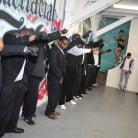 London Keyes in 'London Keyes - Interracial Blowbang'