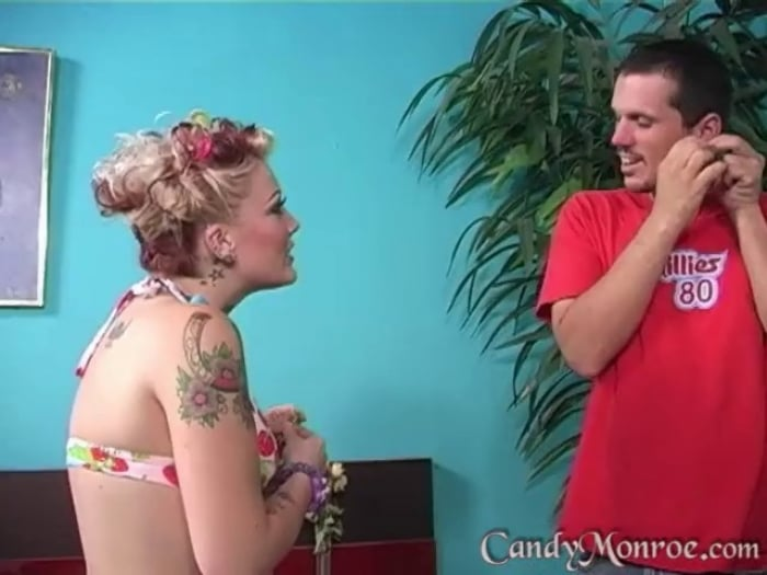 Candy Monroe in Mikey Eats Cum Off My Tits - Candy Mon ...