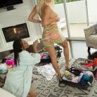 Natalia Starr in 'Natalia Starr, Jenna Foxx and Kira Noir - Zebra Girls'