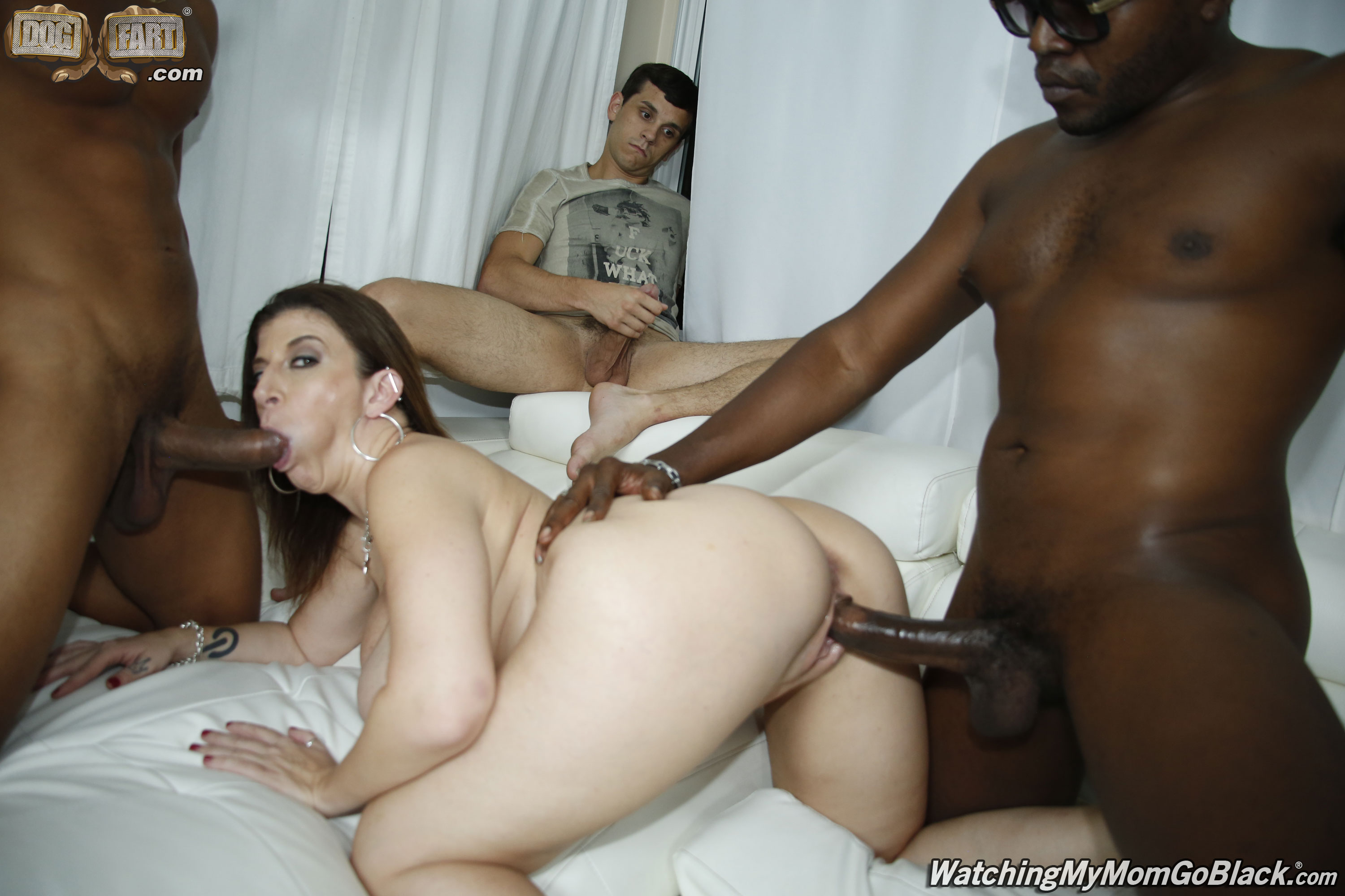 Femdom tied up and fucked by men