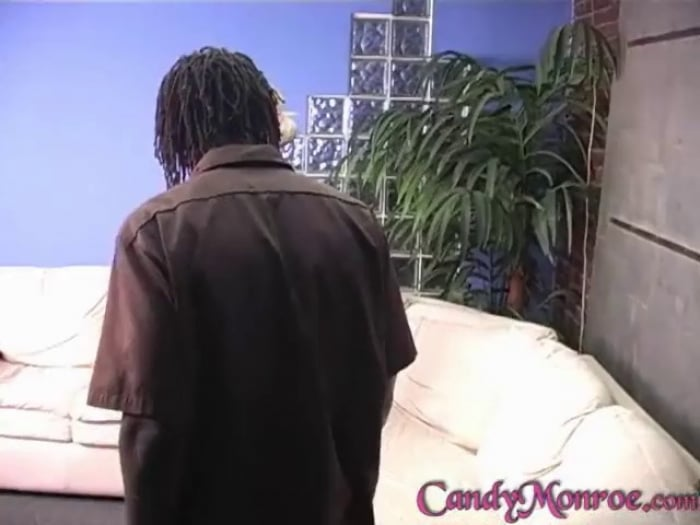 Candy Monroe in Sebastian Shares My Black Cum - Candy  ...