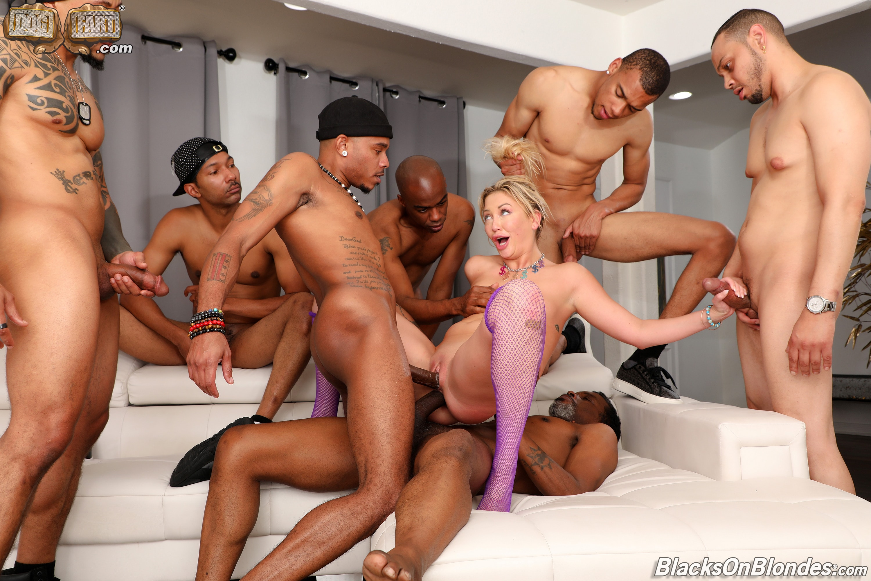 Adira Allure - Adira Allure - Blacks On Blondes - Scene 2 | Picture (24)