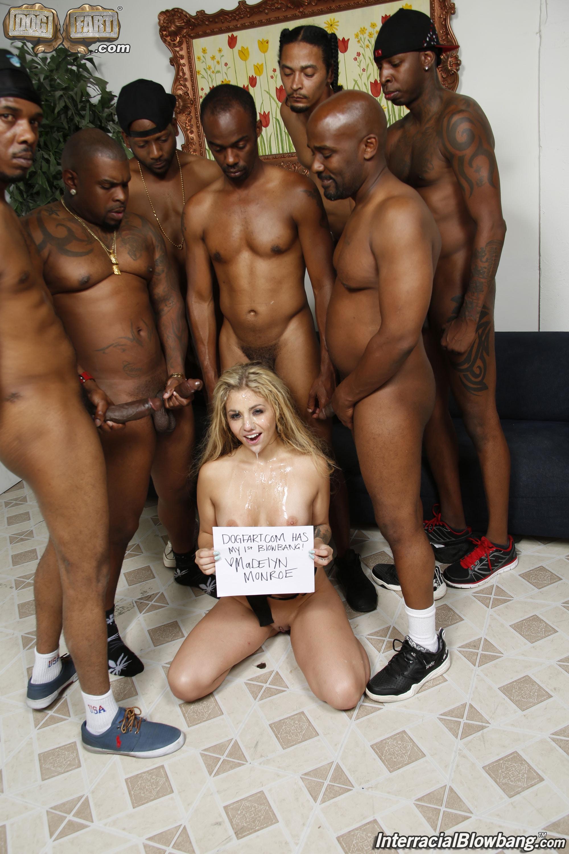 Madelyn Monroe Interracial