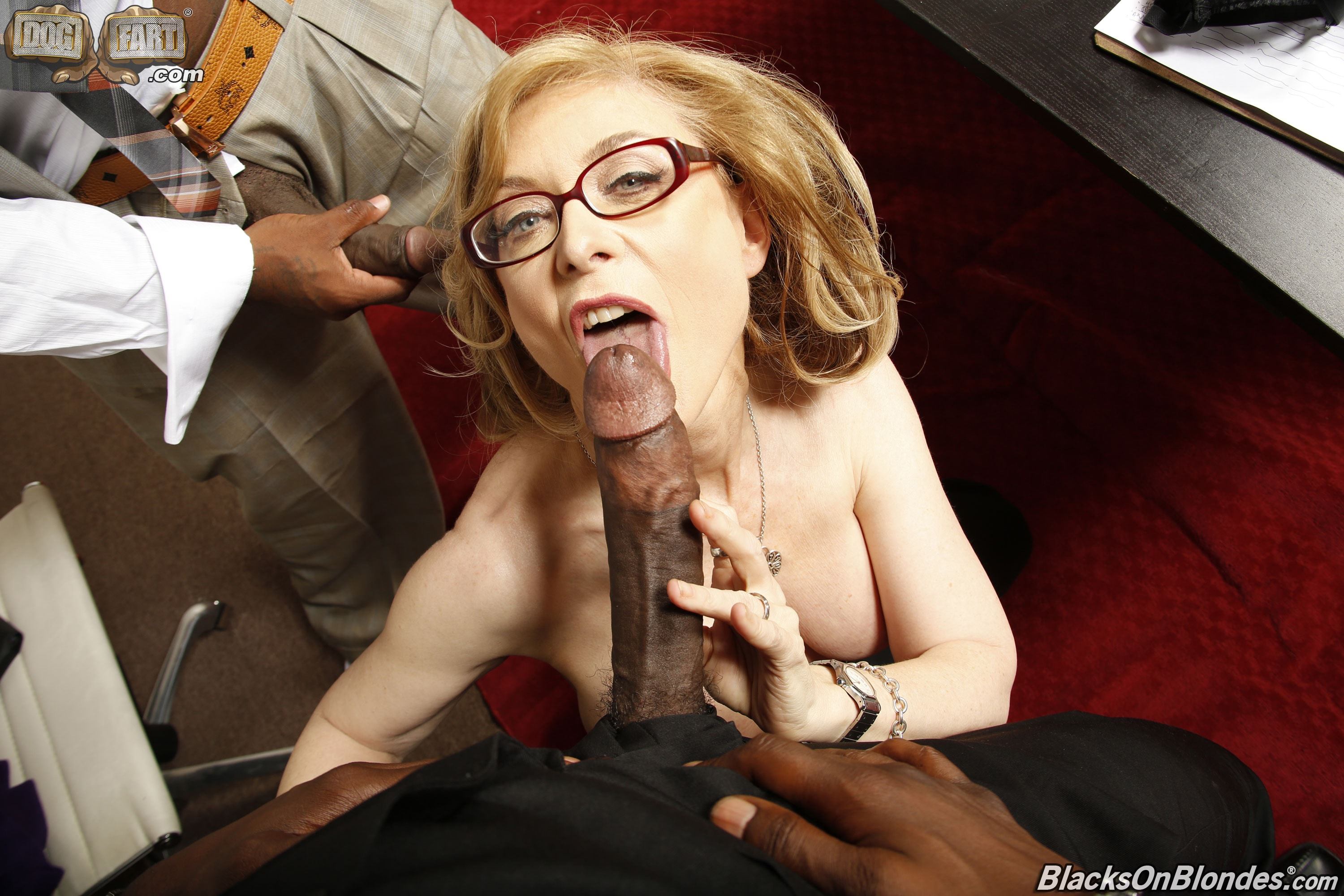 Milf husband black cock interracial nina hartley